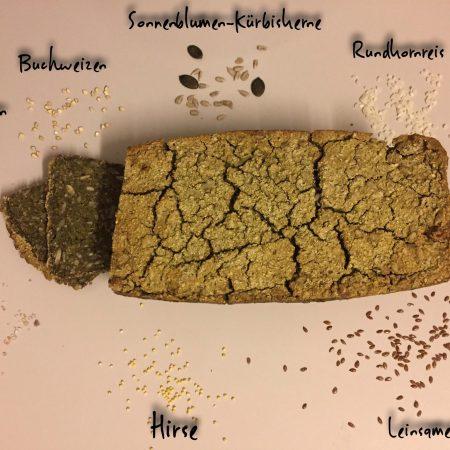 hausgemachtes Reisbrot - glutenfrei