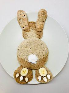 Osterhasen Pancakes