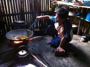 Kochen im Dschungel