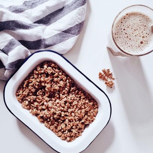 Knuspermüsli Basis / Granola / crunchy Müsli